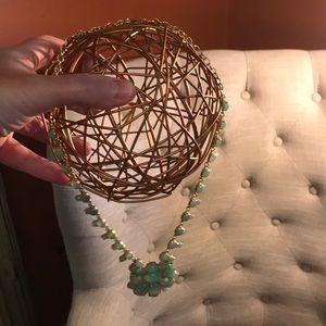 Kate Spade Necklace Sea Green